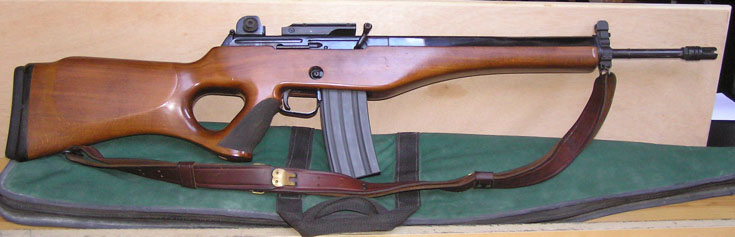 Ruger Mini14 type  - Zombie Squad
